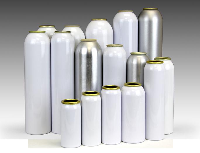 aluminum aerosol cans ccl container