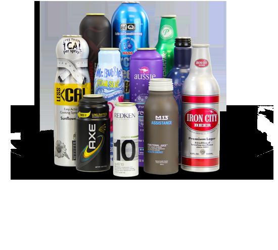 Aluminum Aerosol Cans Al Bottles Alum Contract Mfg