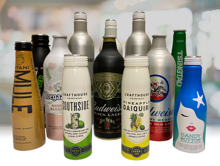 Aluminum Beverage Bottle Manufacturer - CCL Container