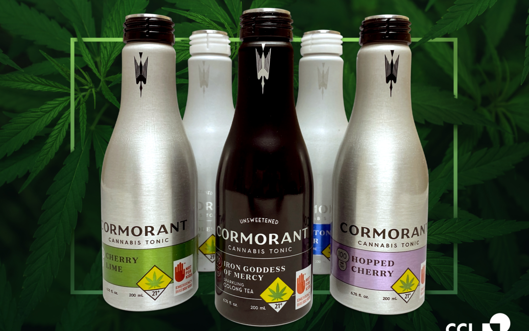 Cannabis-based Beverage Seeks to Stand Out with Unique Aluminum Bottle Design by CCL Container