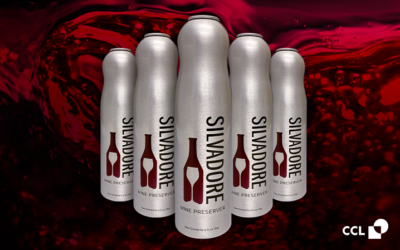 Silvadore Wine Essentials Introduces a New Twist on Wine Preservation in Aerosols by CCL Container