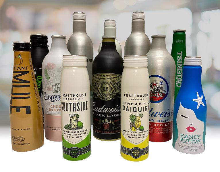 Aluminum Beverage Bottles Hero Image