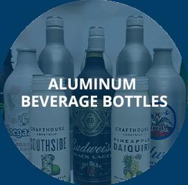 Aluminum Beverage Bottles Graphic