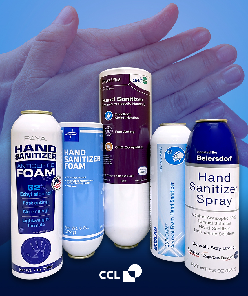 Hand Sanitizer Packaging Manufacturer - CCL Container