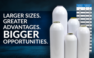 Large-Diameter Aluminum Containers Offer Brands Supersized Advantages and Opportunities